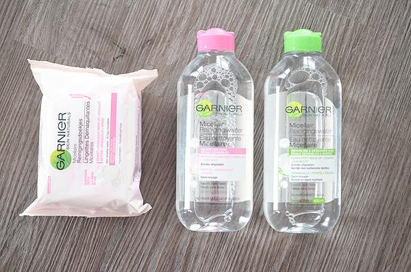 Garnier Micellair Reinigingswater + doekjes