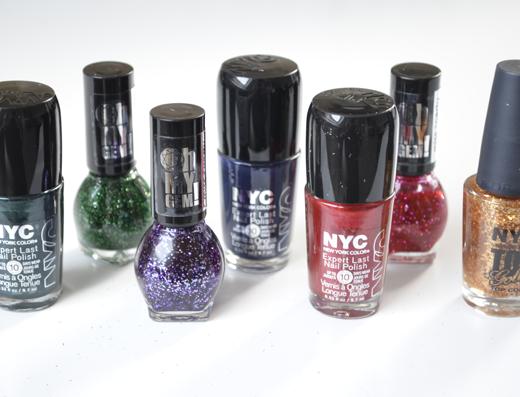 Kerst nagellak van Miss Sporty & NYC