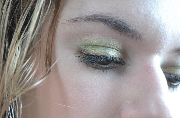 How to – Groene oogschaduw look