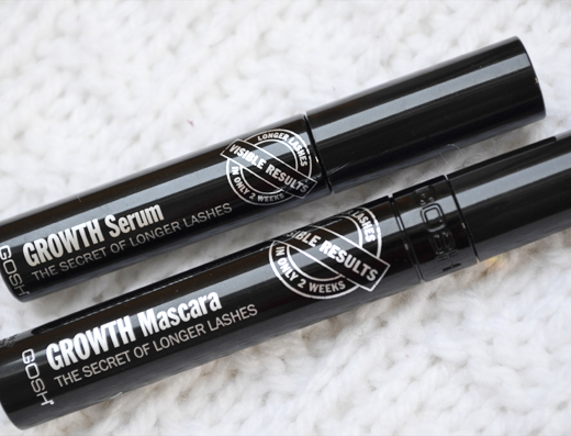 Gosh Growth Mascara en Serum