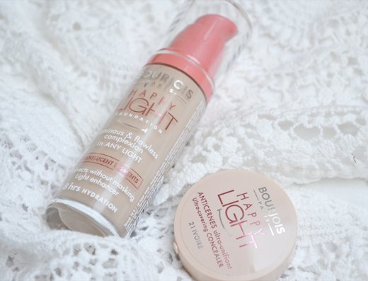 Bourjois Happy Light Foundation & Concealer