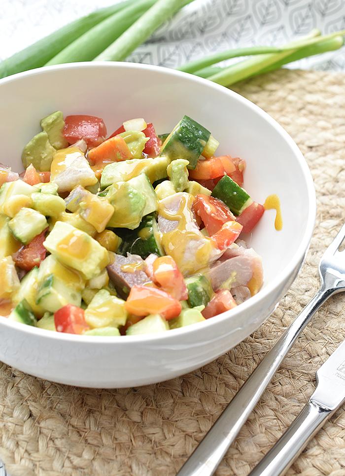 Recept: Frisse haringsalade met avocado