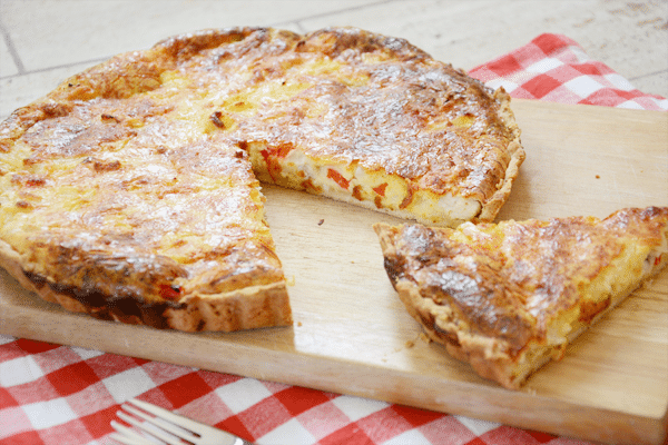 Recept: Hawaii Quiche