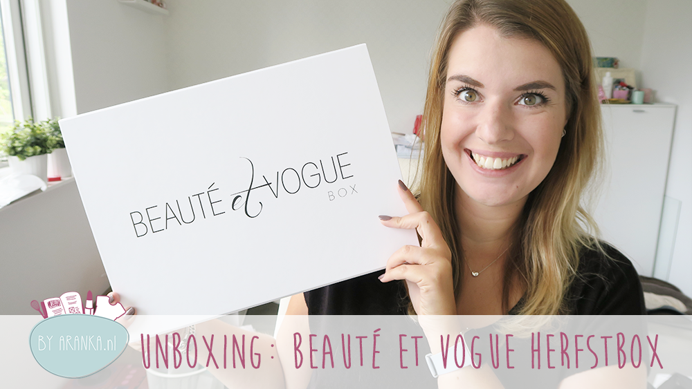 Unboxing: Beauté et Vogue herfstbox