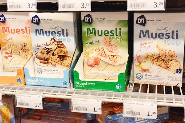 Persoonlijk voedingsadvies van een diëtist in de supermarkt