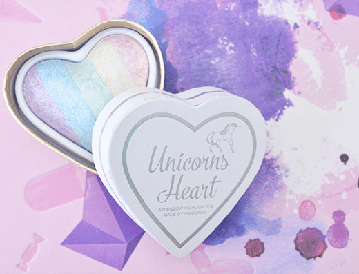 I Heart Makeup Unicorn Heart Highlighter