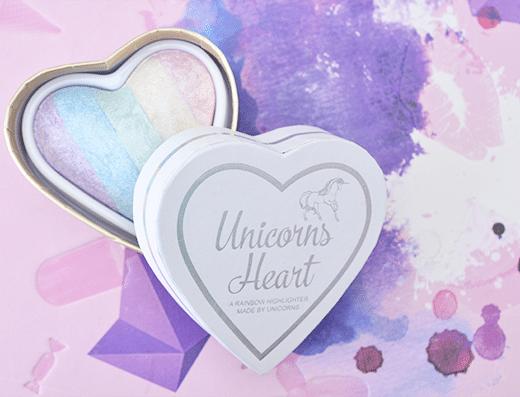 I Heart Makeup Unicorn Heart Highlighter