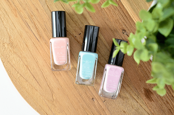 Inglot O2M Breathable Nail Enamel Rise & Shine Collection