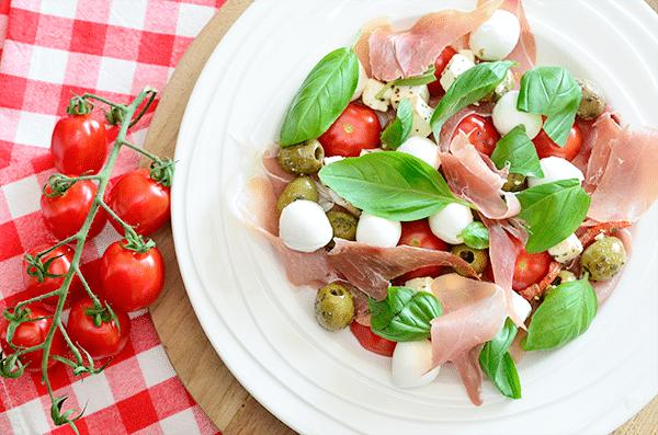 Italiaanse Antipasti Salade