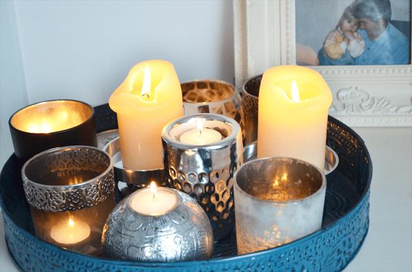 DIY: Kaarsenplateau maken