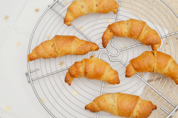 Tip: Suiker en Kaneel Croissantjes