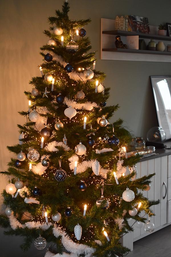 Kerstversiering in ons huis