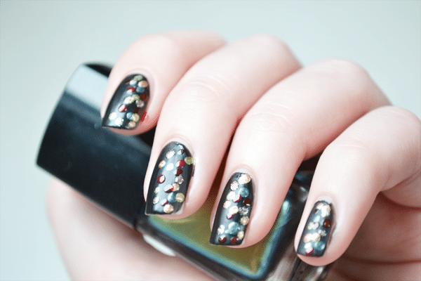 Kerst nail-art