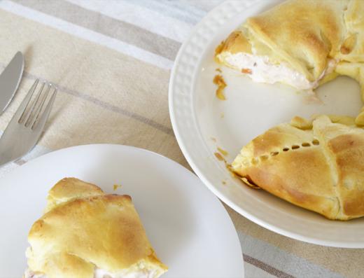 Recept: Kip Salsa Croissant Krans