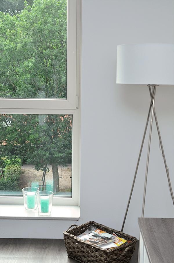 Mini woonkamer make-over, kleur toevoegen