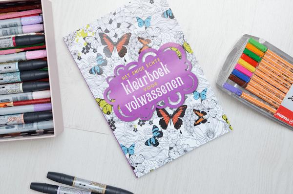 Tip: Kleurboek voor volwassenen
