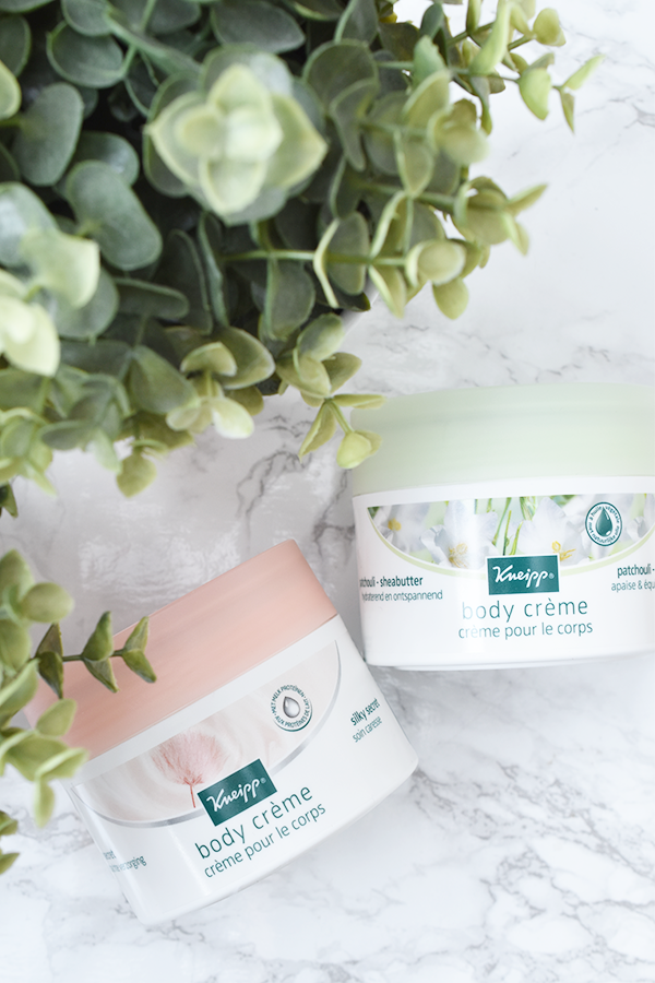Kneipp Patchouli en Silky Secret Body Crème