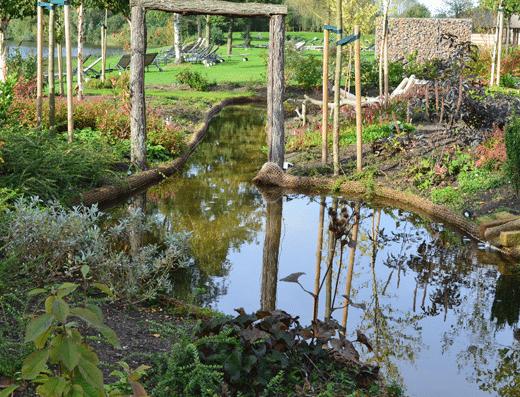 Kneipp Kuurtuin in de Veluwse Bron