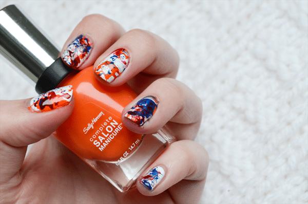 Spetterende nagels voor Koningsdag