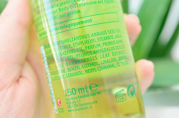 Kruidvat Body Oil Intensive Aloë Vera