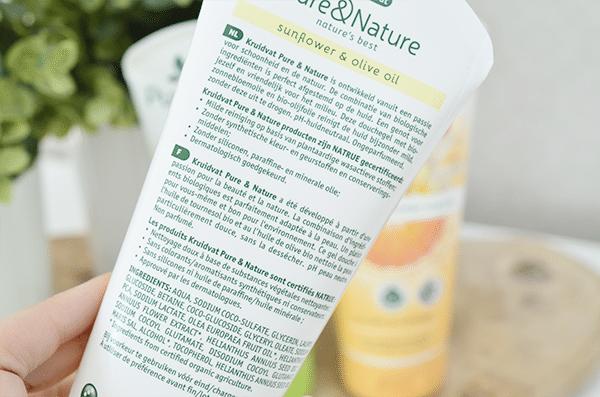 Kruidvat Pure & Nature Shower Gels