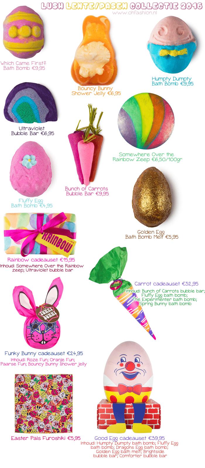 LUSH Voorjaar: Pasen & Moederdag