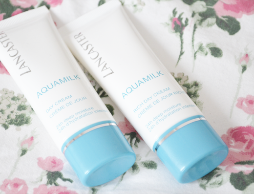 Lancaster Aquamilk Day Cream & Rich Day Cream