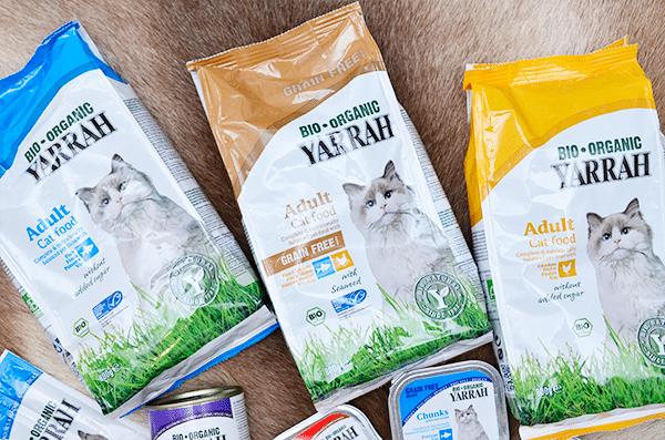 Lekkers op zondag: Yarrah Kattenvoeding