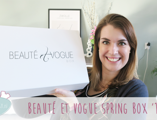 Unboxing: Beauté Et Vogue Lente Box