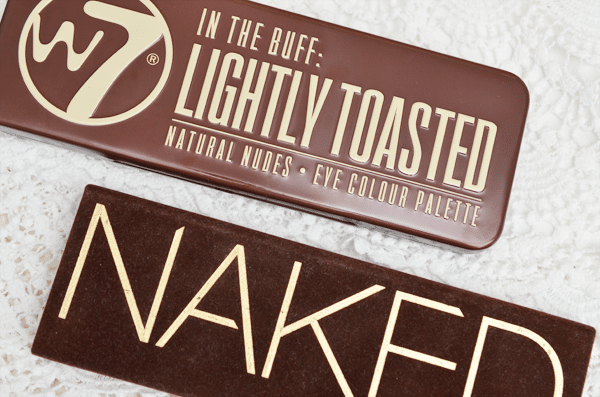 Battle: W7 Lightly Toasted vs. Urban Decay Naked