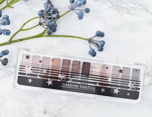 Lottie Shadow Swatch The Rose Golds Eyeshadow Palette