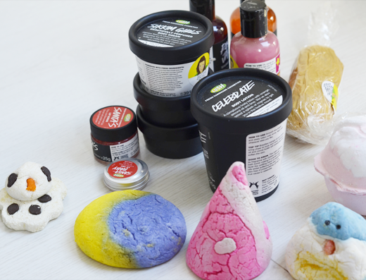 Lush Wintercollectie 2013
