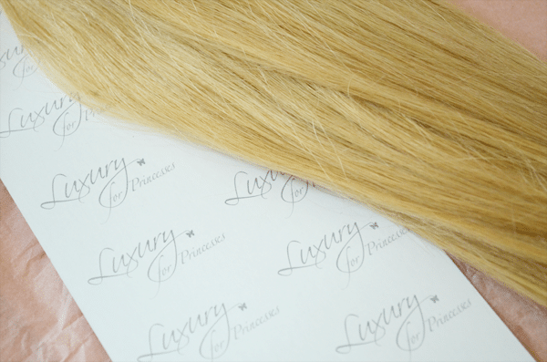 Luxury For Princesses clip-in hair extensions