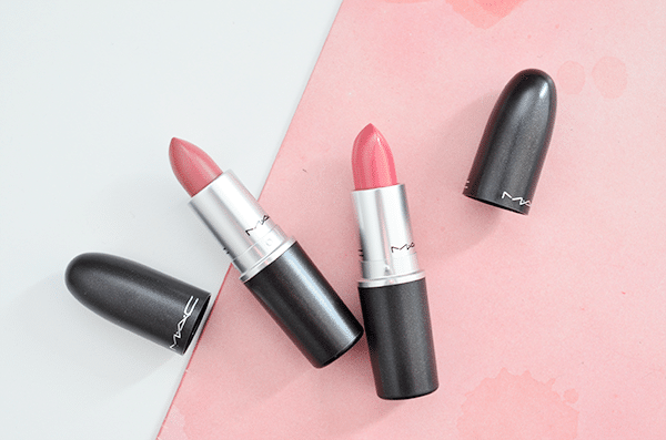 MAC Lipsticks Brave & Fanfare