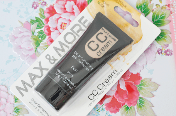 MAX & MORE CC Cream (Action)