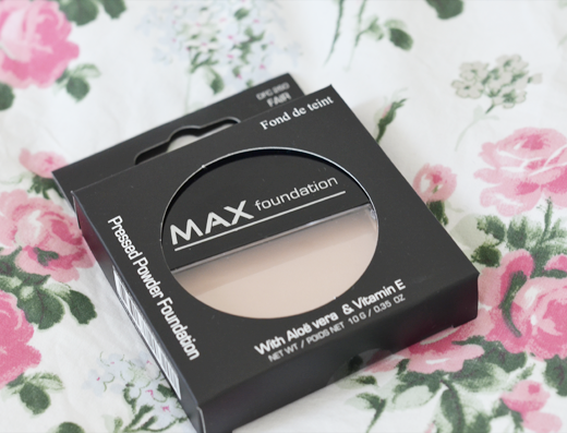 MAX Pressed Powder Foundation