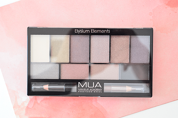 MUA Elysium Elements Palette