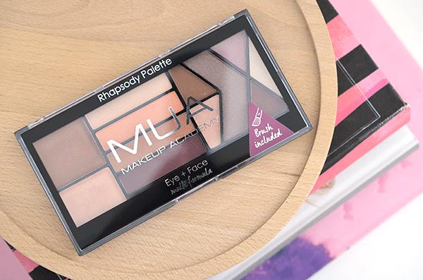 MUA Makeup Academy Eye + Face Rhapsody Palette