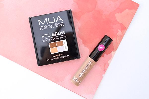 MUA Pro-Brow Ultimate Eyebrow Kit & Brow Define Tinted Brow Mascara