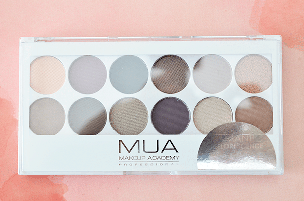 MUA Romantic Efflorescene Eyeshadow Palette