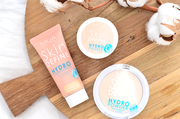 MUA Skin Define Hydro Primer, Foundation & Powder