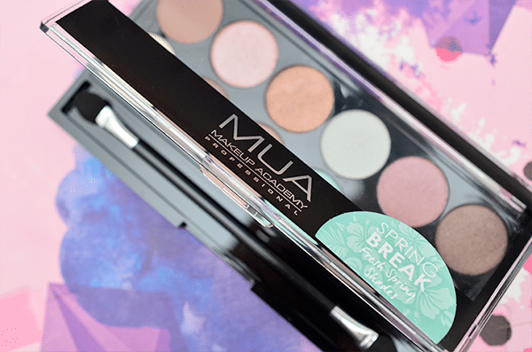 MUA Spring Break Eyeshadow Palette