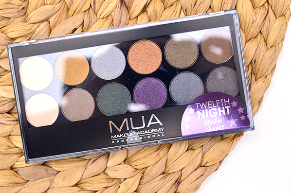 MUA Twelfth Night Eyeshadow Palette
