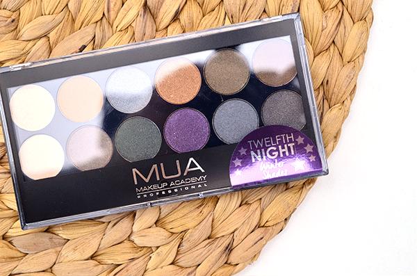 MUA Twelfth Night Eyeshadow Palette