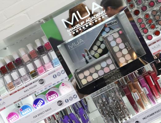 MUA komt naar Nederland & België! + verkooppunten