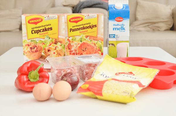 Maggi Aardappelvariatie Cupcakes & Pannenkoekjes