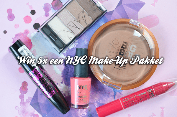 Win 5x een NYC Make-Up Pakket