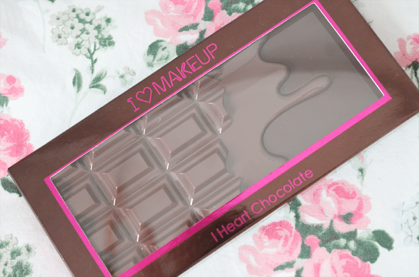 Makeup Revolution I Heart Chocolate (dupe Too Faced Chocolate Bar + vergelijking)