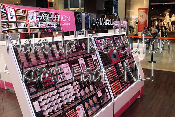 MakeUp Revolution komt naar NL!
