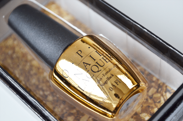 Win: OPI The Man With The Golden Gun Topcoat